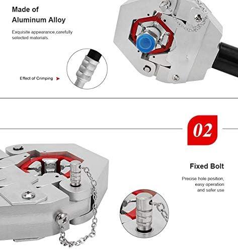 新しい分離型油圧ホース圧着工具/足踏み油圧ホース圧着工具/油圧ホースクリンパーとCEが証明します