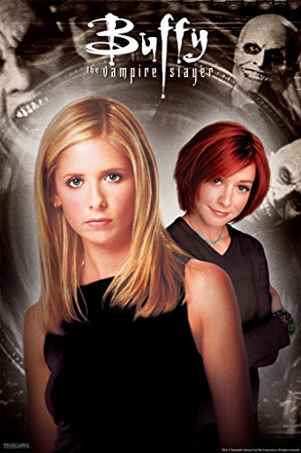 Pyramid America Buffy The Vampire Slayer Willow Duo Gentlemen Hush Episode 90s TV Show Series Horror Cool Wall Decor Art Print Poster 12x18 (Best Buffy Spike Episodes)