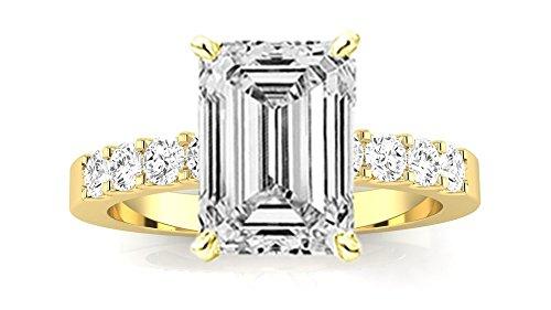 0.4 Ct Yellow Diamond - 8