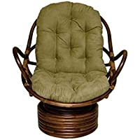International Caravan Swivel Rocker Chair - Sage