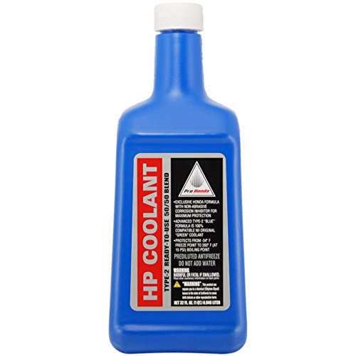 Honda 08C50-C321S02 Coolant Ready to Use, 1 quart