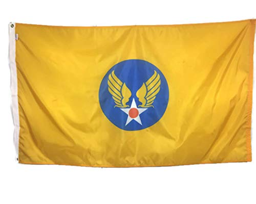 3x5' US Army Air Corps Flag, Historical Air Force WWII, All Weather Nylon, Made in USA
