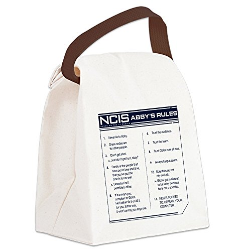 (CafePress - NCIS Abby's Rules - Canvas Lunch Bag with Strap)