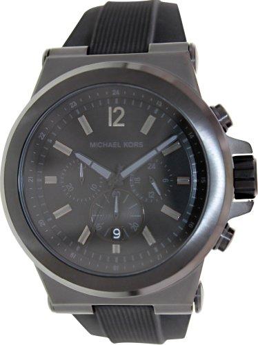 Michael Kors Men's Dylan Black Watch - Black Kors Micheal