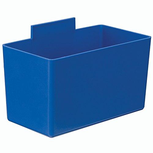 Inner Bins - Quantum QBC112 Little Inner Bin Cup for Plastic Stacking Bins - 2-3/4 x 5-1/4 x 3 Blue - Lot of 48
