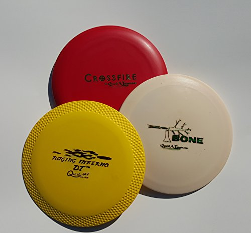 Quest AT Starter Disc Golf Set, 3 Piece (Colors may Vary) by Quest AT, Quest Applied Technologies, Inc.