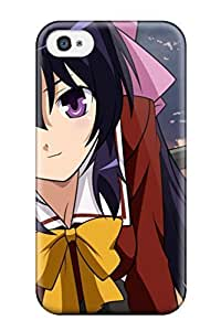 Snap-on Anime Himari Case Cover Skin Compatible With Iphone 4/4s