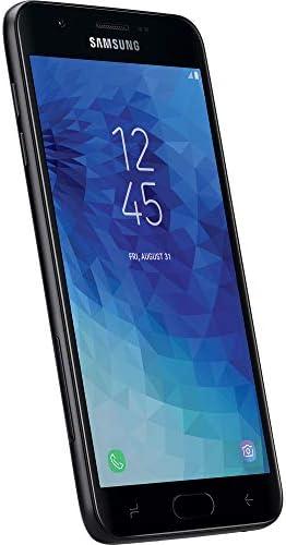 Simple Mobile Samsung Galaxy J7 Crown 4G LTE Prepaid Smartphone (Locked) - Black - 16GB - Sim Card Included - GSM