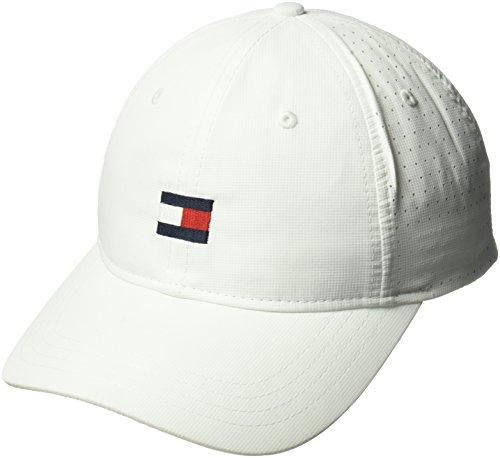 0df9307c473 Tommy Hilfiger Men s Dad Hat Flag Golf Cap