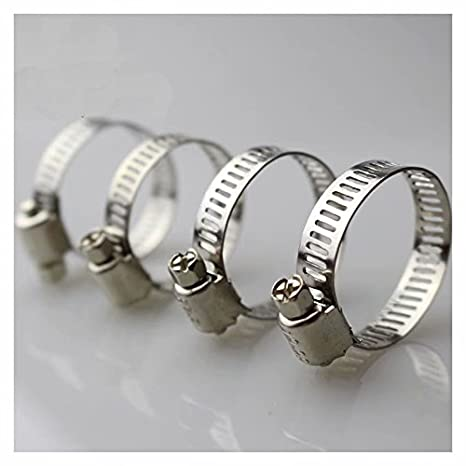 12pcs 46mm 70mm 304 Stainless Steel Drive Hose Clamps Worm Clips ABBOTT