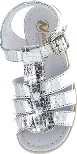 Sandals Naturino Fashion Girls 4067 Silver Bw4tHqw