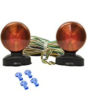 Lighting Technologies LT330 Red Trailer Towing Light Kit (Two-Sided Magnetic)