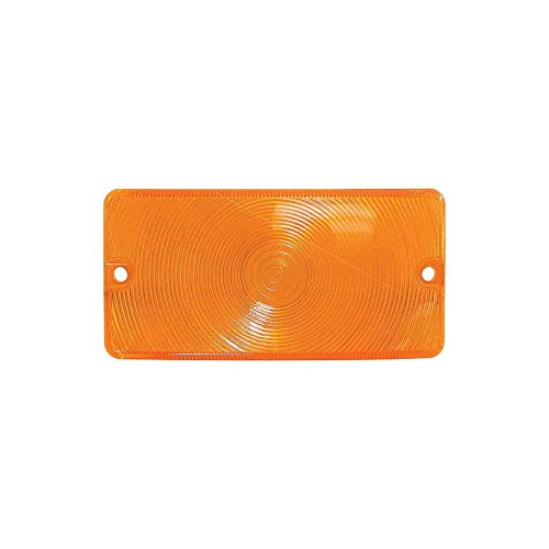 MACs Auto Parts 48-45202 -64 Ford Pickup Parking Light Lens, Amber, Rectangular, ()