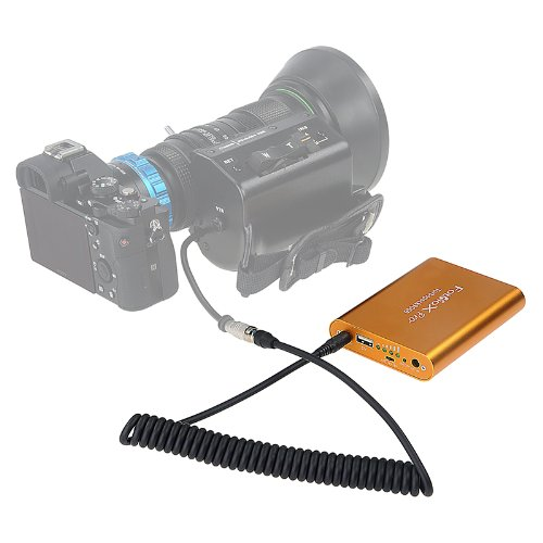 Fotodiox Pro Turbopack 9000 Kit - DC 12v Power Pack with B4 2/3'' 6-pin Hirose Power Cable for Fujinon, Nikon, Canon, Angenieux, Schneider Lens Servo by Fotodiox (Image #2)