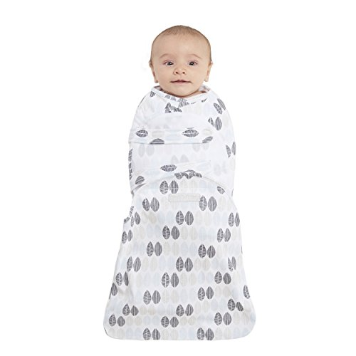 Halo Swaddlesure Adjustable Swaddling Pouch, Leaf, Small