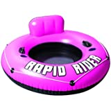 Bestway Rapid Rider Inflatable River Tube, Pink, 53""