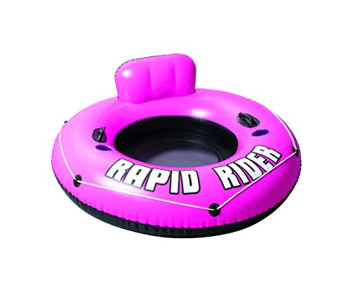 Bestway Rapid Rider Inflatable River Tube, Pink, 53