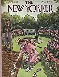 1942 New Yorker May 16-Digging up flowers to plant Vegs