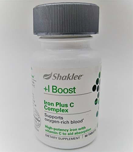 Shaklee Iron Plus C Complex 90 ct.