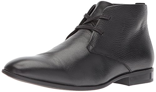 Calvin Klein Men's Carmicheal Leather Chukka Boot Black outlet prices cheap amazon sale limited edition 6Tj5pI12