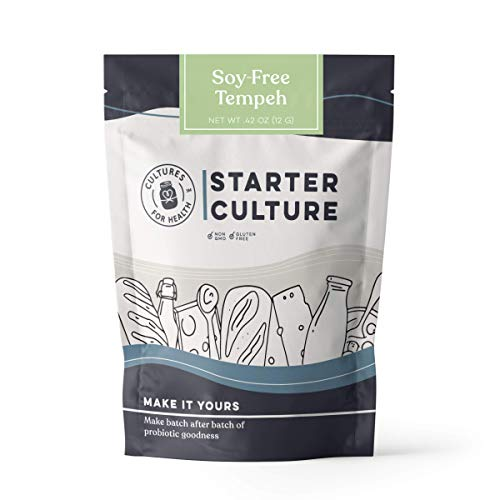 Soy-Free Tempeh Starter Culture | Cultures for Health | DIY, vegetarian, cultured protein | No maintenance, non-GMO