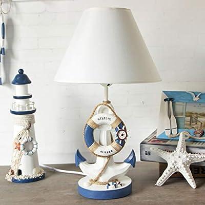 miavilla lámpara de mesa Faro – Madera pantalla de tela