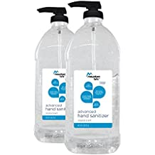 Mountain Falls Advanced Hand Sanitizer with Vitamin E, Original Scent, Pump Bottle, Compare to Purell, 67.59 Fluid Ounce (Pack of 2)