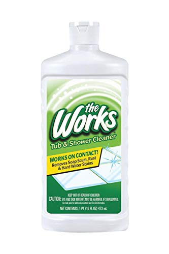 Care Home Labs (The Works Tub & Shower Cleaner 16 Fl Oz)