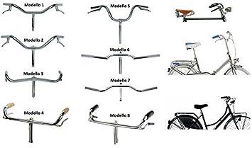 Manubio / Pesas acero cromado para bicicleta Graziella - Vintage - frenos de varilla - Holanda