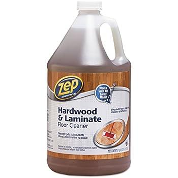 Zep Commercial 1041692 Hardwood and Laminate Cleaner, 1 gal Bottle
