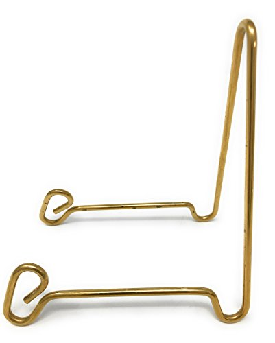 (Holders, Stands, and More Bowl Stand, Medium, Brass)