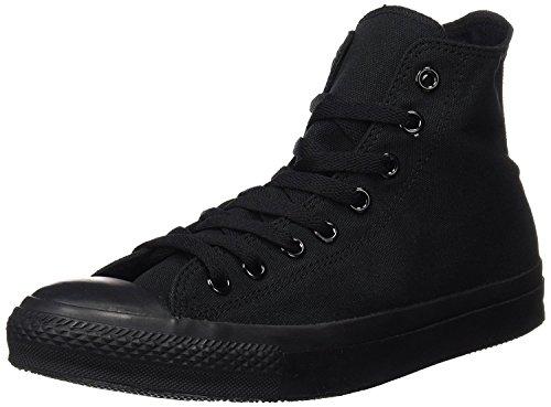 Converse Unisex All Star Core Hi Sneaker,Black Monochrome,Men's 6.5 M/Women's 8.5 M by Converse