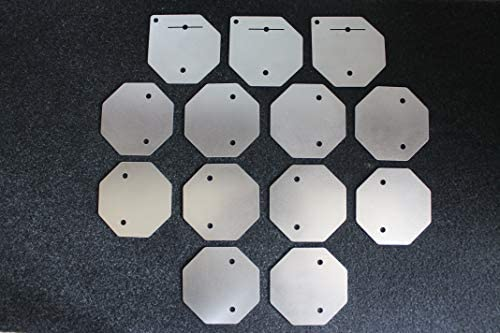 Hho Generator Parts 13 Plates For Dry Cell Kit Hydrogen Stainless Steel 316l Auto