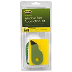 Gila Window Film Application Kit - The complete window film application kit includes all tools needed to apply window film: Squeegee to smooth film onto glass, trim tool to customize at home, low lint cloth to help clean the glass, and applic...