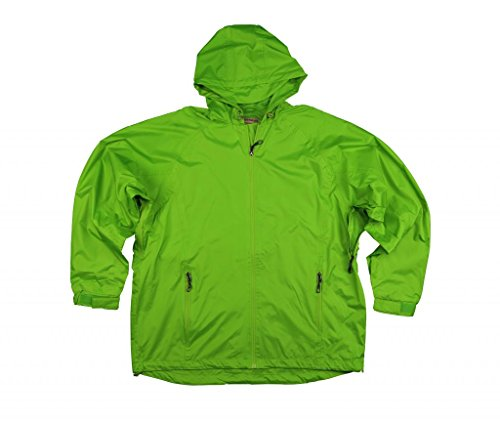 Foul Weather Raincoat (Cold Storage Foul Weather Gear Women's Rain Parka XXXXXX-Large Green)