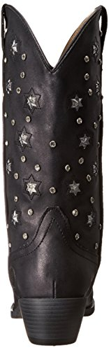 Starlights Roper Riding Women's Black Boot 6xwUq