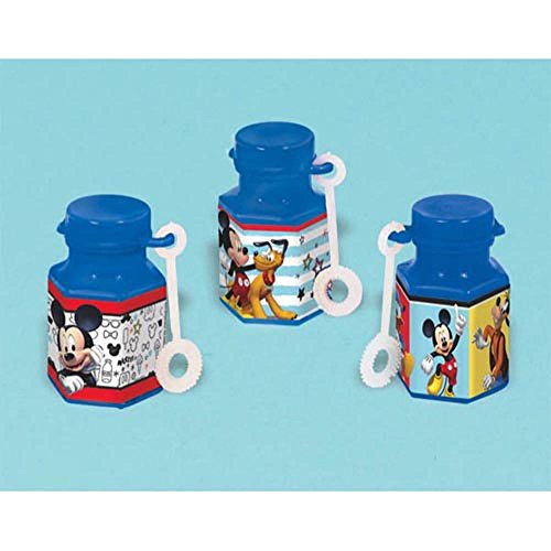 Mickey Mouse 'On the Go' Mini Bubbles / Favors (12ct)]()