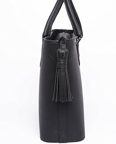 Josephine Osthoff Handtaschen-Manufaktur, Borsa a tracolla donna nero nero one size