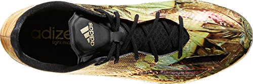 Adidas Mannen Adizero 5-sterrenhotel 5.0 Goud Voetbal Klampen (core Zwart / Metallic Goud, 17)