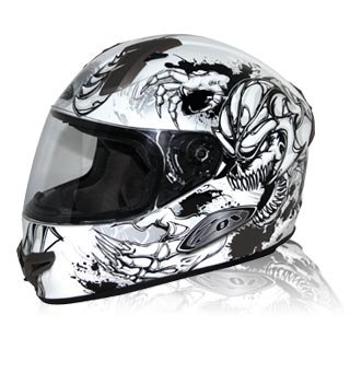 amazon com zox primo c slayer graphic full face motorcycle helmet