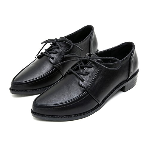 GAOLIM Negro Hermana B En Gruesas Pequeña La Y Zapatos Estudiantes Zapatos Mujer Con De Negros Invierno Suaves g7ZqgUr