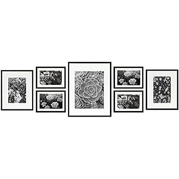 Amazon.com - Frametory, Gallery Wall Collection 7-Piece Aluminum ...
