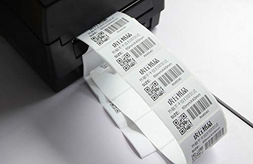 Printer Parts 1 rollsPOS Thermal Label Paper 40 x30 mmThermal Printer Thermal Labels Waterproof Barcode Blank Stickers (Total 800 Labels) by Yoton (Image #3)