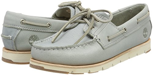 Gris Camden grain Femme Mocassins Timberland loafers Falls Escape Full Leather Iron wrought Og1n6qx