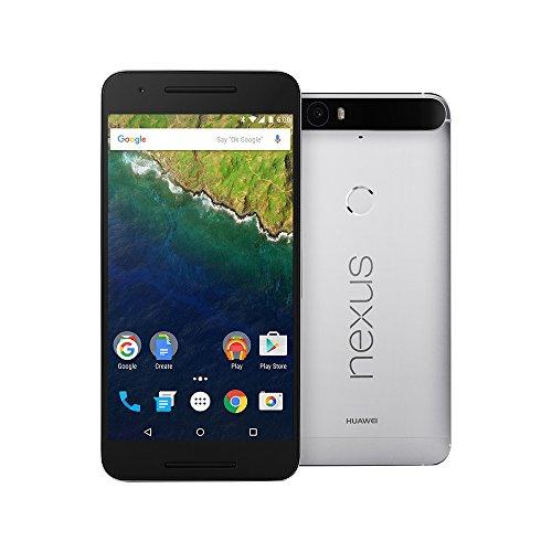 Huawei Google Nexus 6P 32GB 5.7-Inch Reversible USB Type-C 4G LTE Factory Unlocked (ALUMINIUM) - International Stock No Warranty