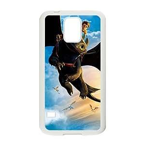 QQQO Black bat and man Cell Phone Case for Samsung Galaxy S5 hjbrhga1544