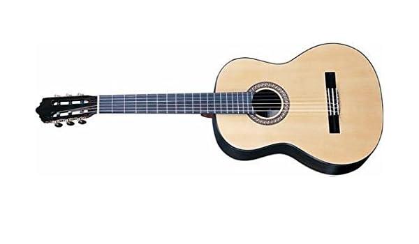 Santos Martinez LHSM600 - Guitarra clásica (caoba, para zurdos ...