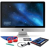 OWC SSD Upgrade Bundle For 2011 iMacs, OWC Mercury Electra 1.0TB 6G SSD, AdaptaDrive 2.5 to 3.5 Drive Converter Bracket, In-line Digital Thermal Sensor Cable, Installation tools