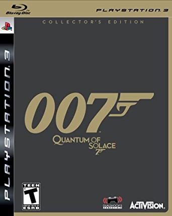 James Bond 007: Quantum of Solace Collector's Edition - Playstation 3 PlayStation 3 at amazon