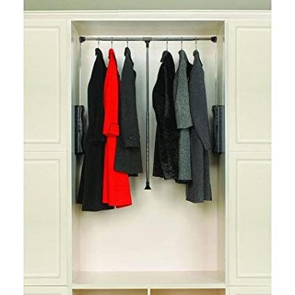Amazon Com Rev A Shelf Cpdr 3548 Pull Down Closet Rods Cpdr Closet